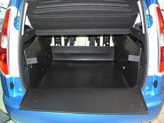 Kofferraumwanne Skoda Roomster Kofferraumschutz Skoda
