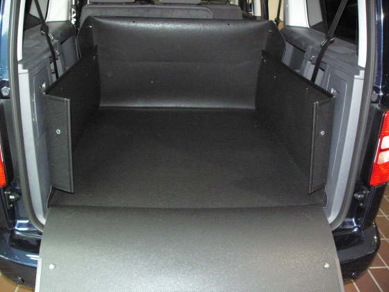 vw caddy life kofferraumwanne vw caddy life kofferraumschutz. Black Bedroom Furniture Sets. Home Design Ideas