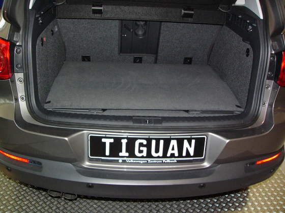 vw tiguan ab baujar 07 2007 bis 04 2016 kofferraumwanne. Black Bedroom Furniture Sets. Home Design Ideas