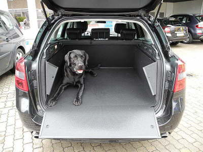 Kofferraumwanne Duster Kofferraumschutz Hundebox