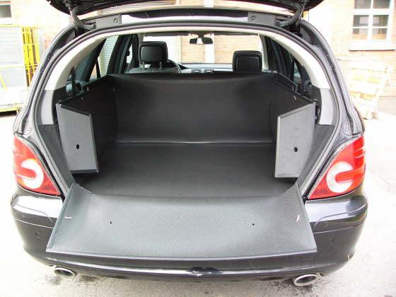 mercedes r klasse kofferraumwanne kofferraumschutz kofferraummatte gep ckraumwanne. Black Bedroom Furniture Sets. Home Design Ideas