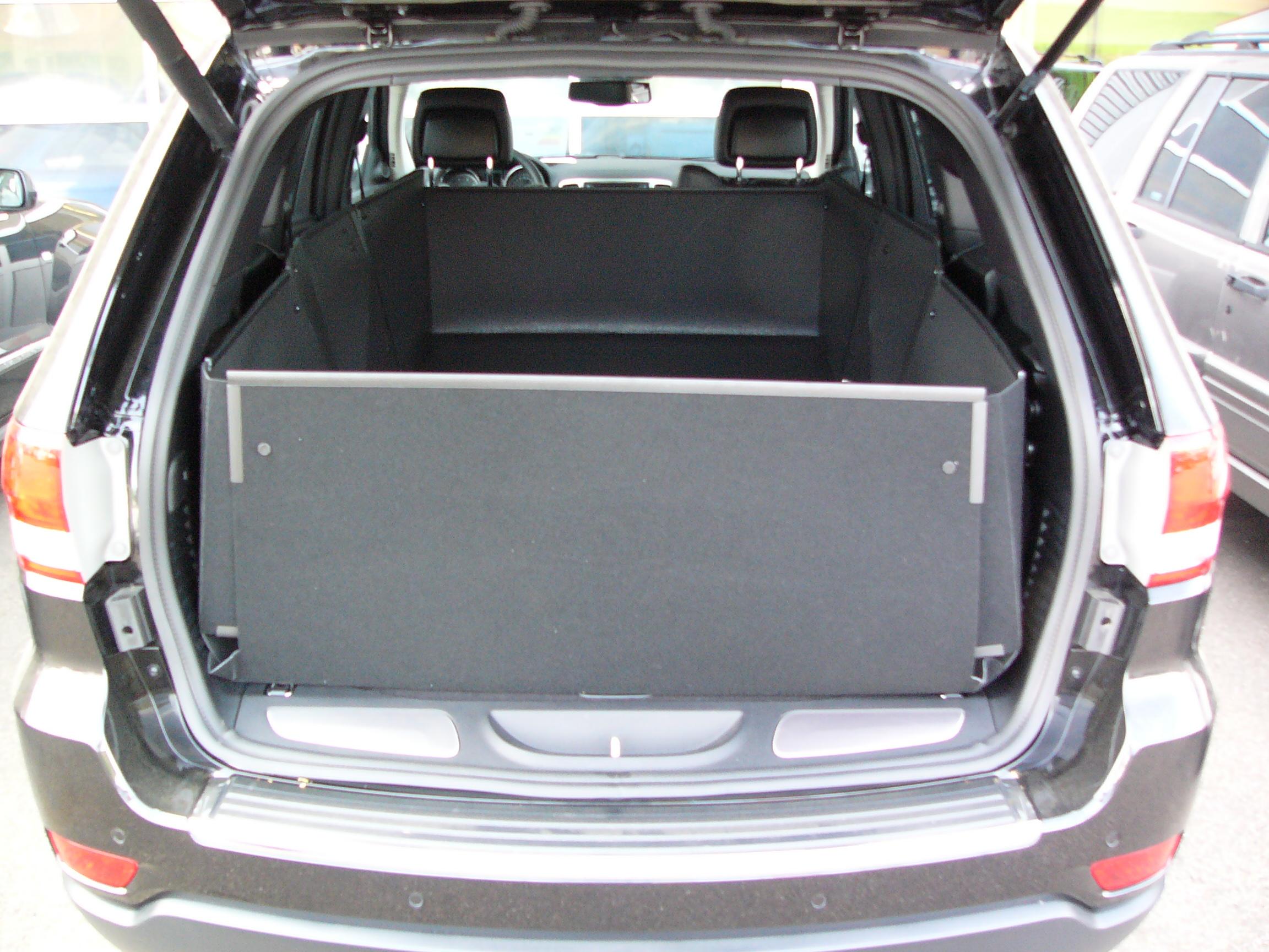 NCLJE701 Gummikofferraumwanne Kofferraumwanne für Jeep Grand Cherokee ab 2011