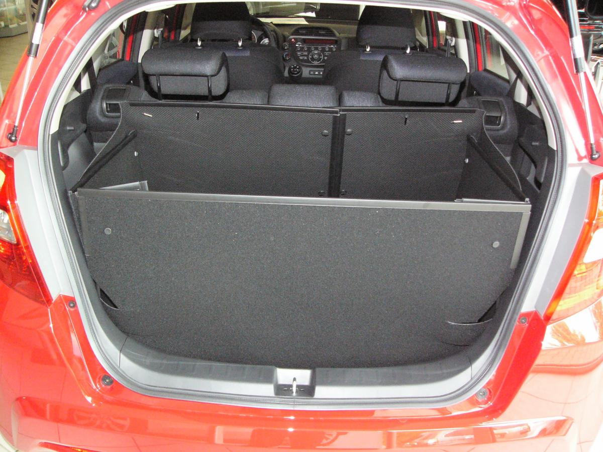 passgenaue kofferraumwanne f r honda jazz der hohe. Black Bedroom Furniture Sets. Home Design Ideas
