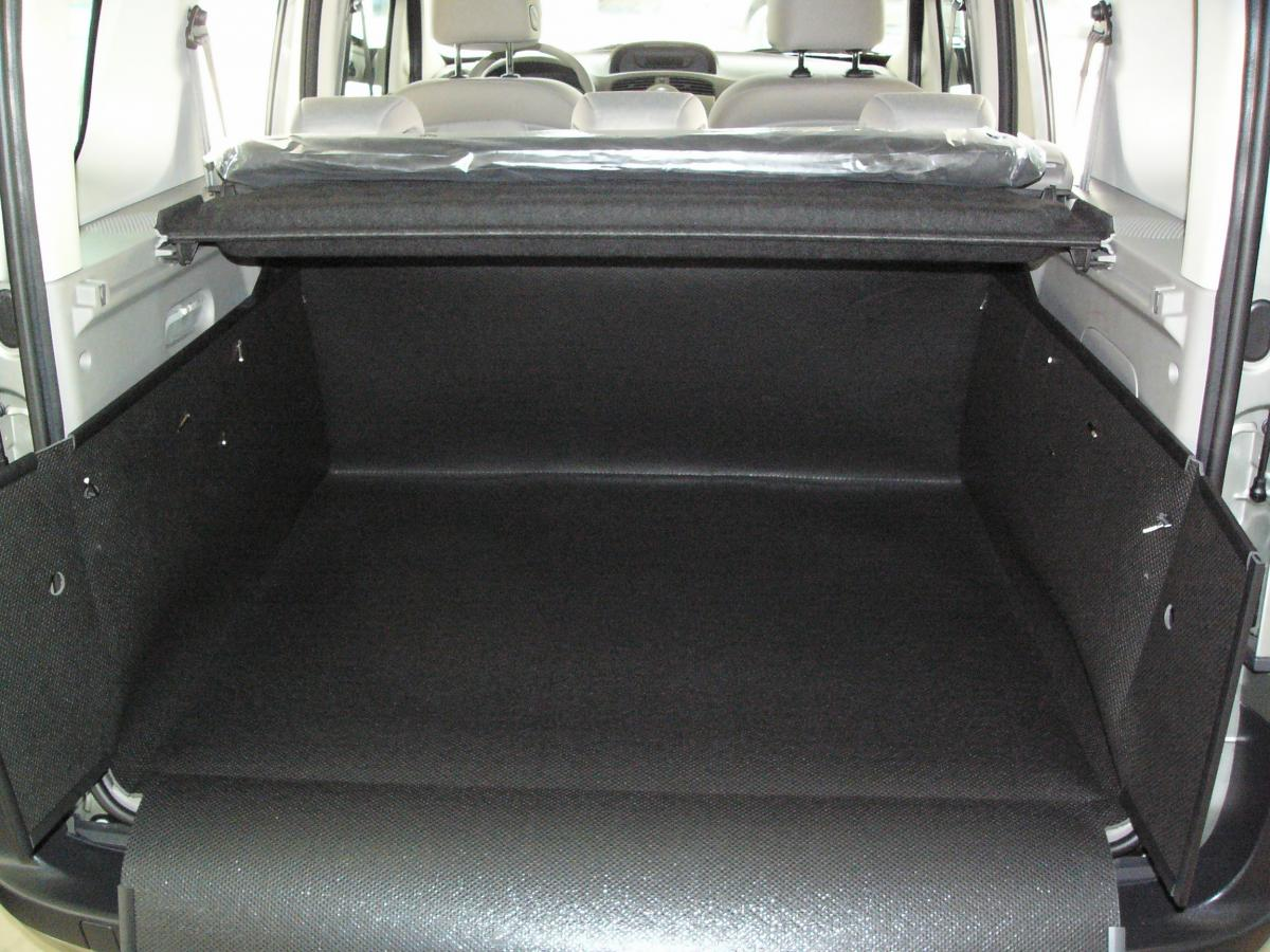 kofferraumwanne hundebox f r renault kangoo. Black Bedroom Furniture Sets. Home Design Ideas