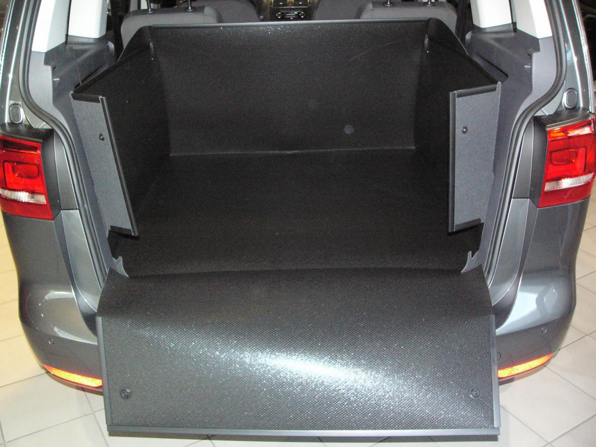 kofferraumwanne hundebox f r vw touran. Black Bedroom Furniture Sets. Home Design Ideas