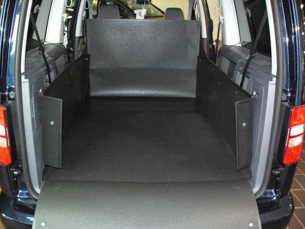 kofferraumwanne hundebox f r vw caddy maxi. Black Bedroom Furniture Sets. Home Design Ideas